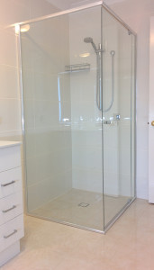Glass types - splash backs - showers - balustrades