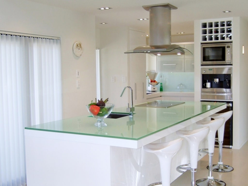 Unusual uses of glass in the home